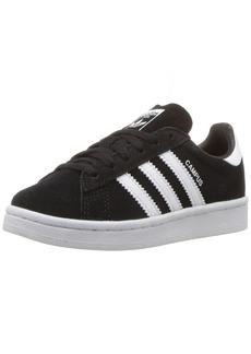 adidas Originals Boys' Campus C Sneaker Black White 12 Medium US Little Kid