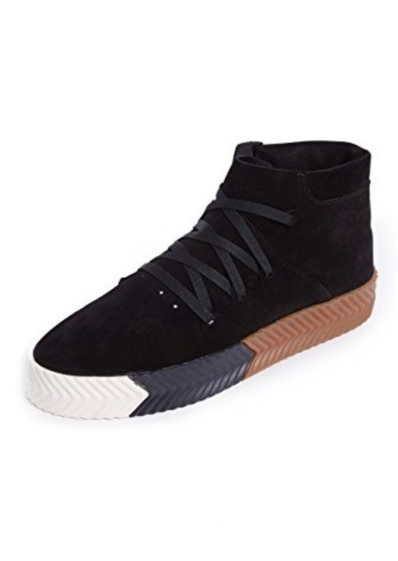 online store 11737 f8e2a adidas Originals by Alexander Wang AW Skate Mid Top Skate Shoes