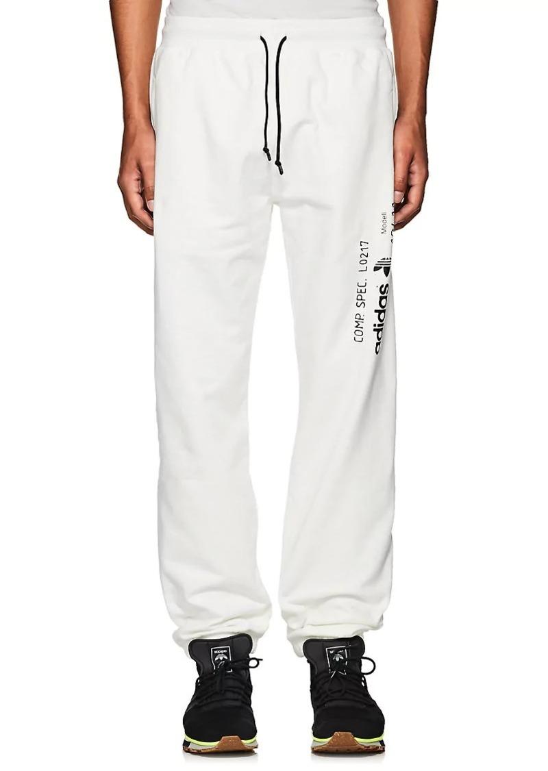 adidas Originals by Alexander Wang Men s Logo Cotton Fleece Jogger Pants 078d924fb
