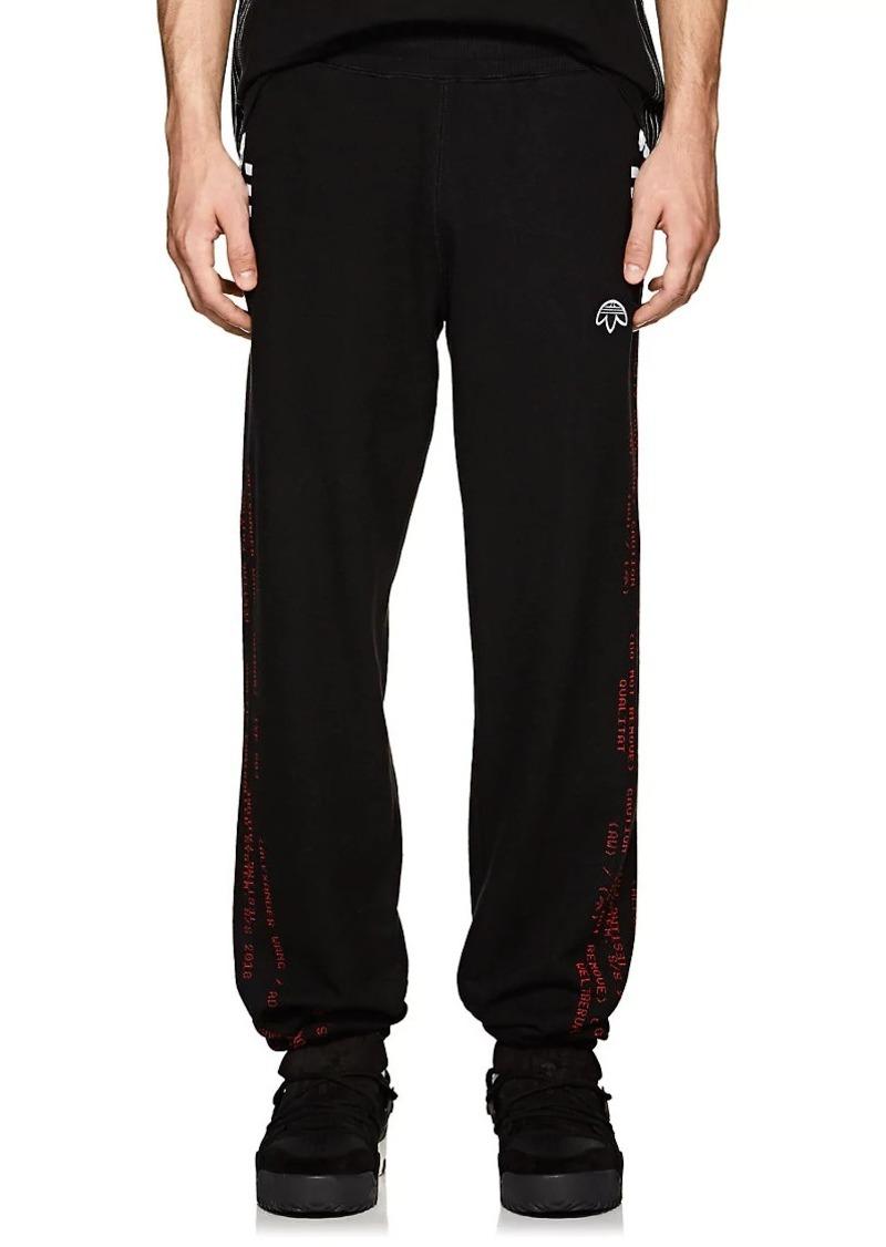 adidas Originals by Alexander Wang Men s Logo Cotton Piqué Jogger Pants 30da6d89b