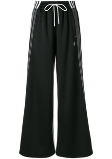 Adidas Originals By Alexander Wang wide-leg track pants - Black