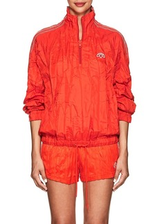 adidas Originals by Alexander Wang Women's Crinkled Tech-Fabric Pullover Jacket