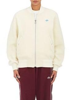 adidas Originals by Alexander Wang Women's Reversible Fleece Bomber Jacket