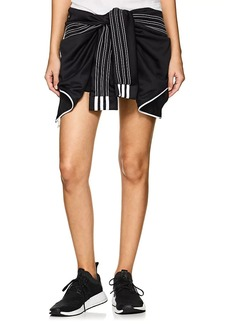 adidas Originals by Alexander Wang Women's Tie-Front Jersey Shorts