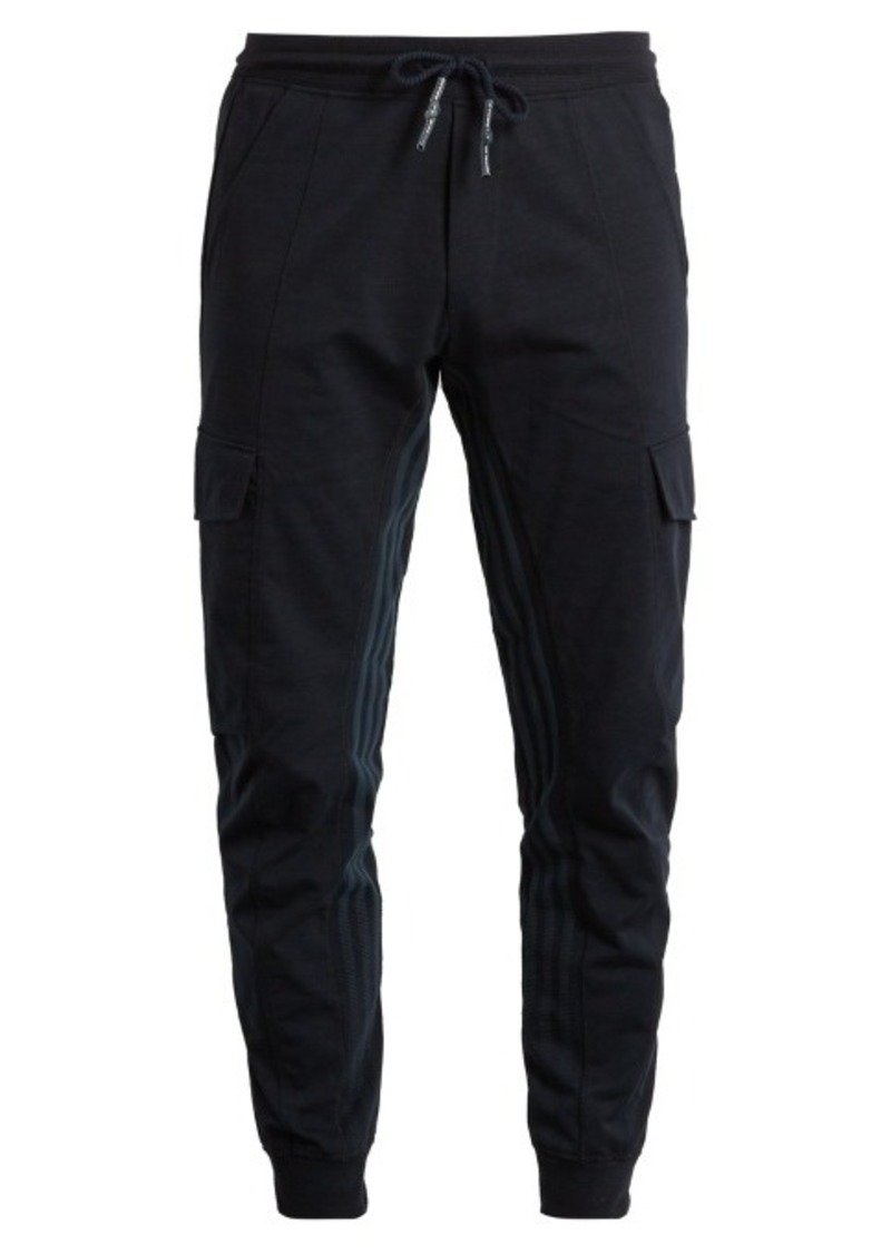 3f753933209 Adidas Originals by Wings + Horns Superstar striped cotton-blend twill  track pants