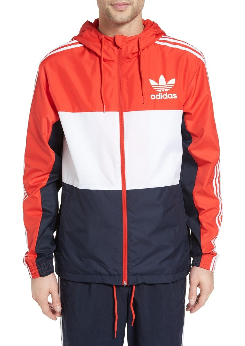usa cheap sale buying cheap los angeles Adidas adidas Originals California Hooded Windbreaker | Outerwear