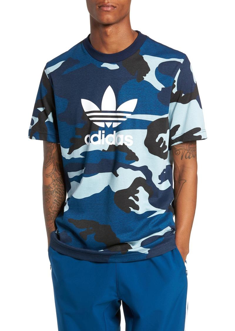 adidas Originals Camo Logo T-Shirt