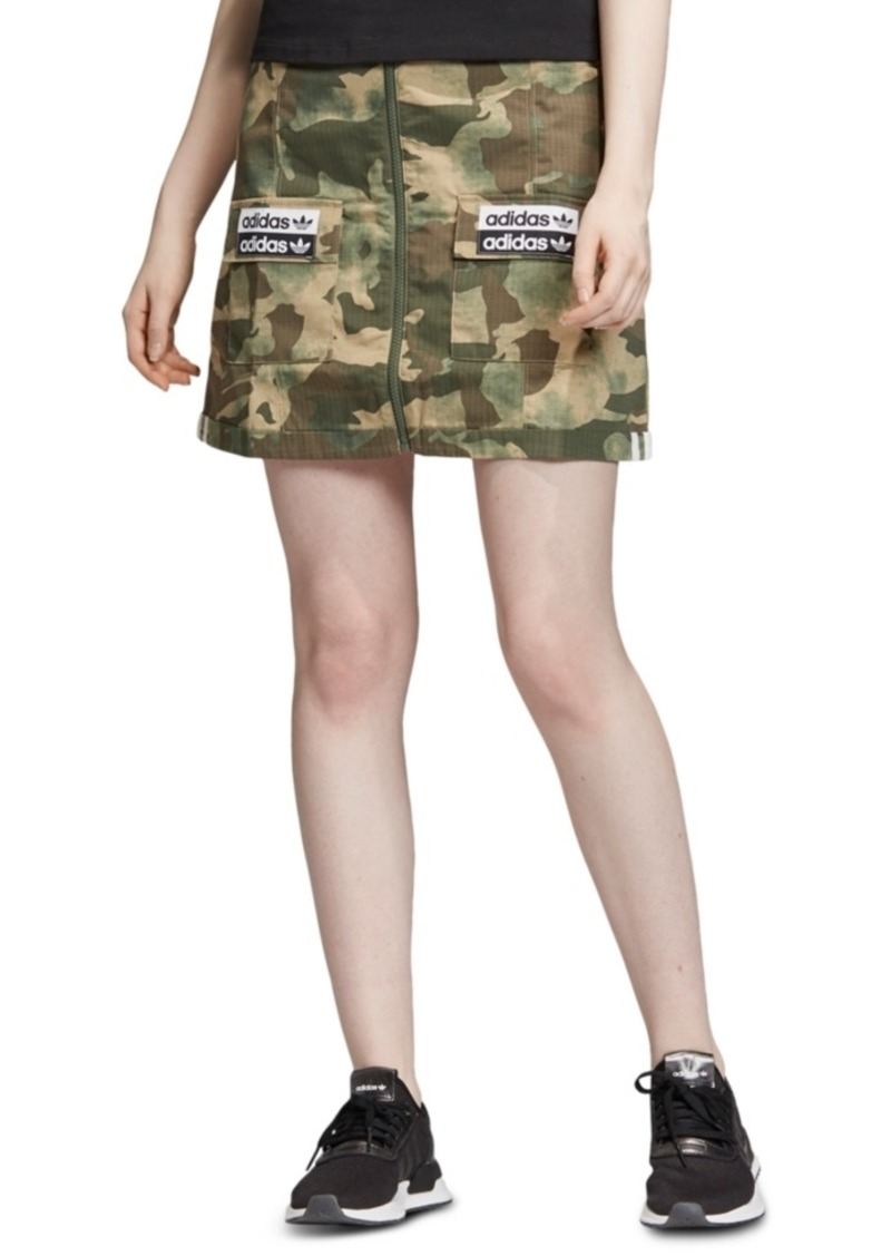 adidas Originals Women's Camo Skirt