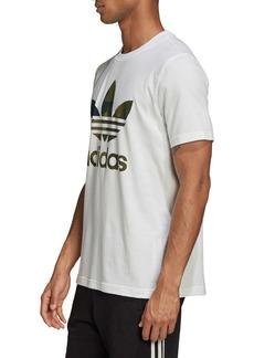 adidas Originals Camo Trefoil Logo T-Shirt