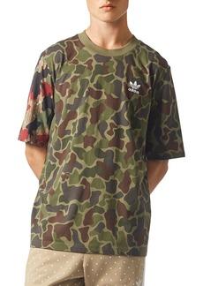adidas Originals Camouflage Boxy Short Sleeve Tee