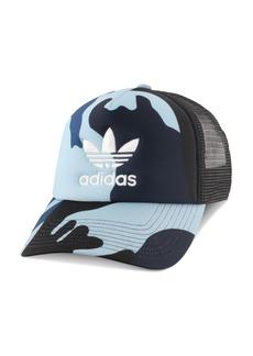 adidas Originals Camouflage-Print Trucker Hat