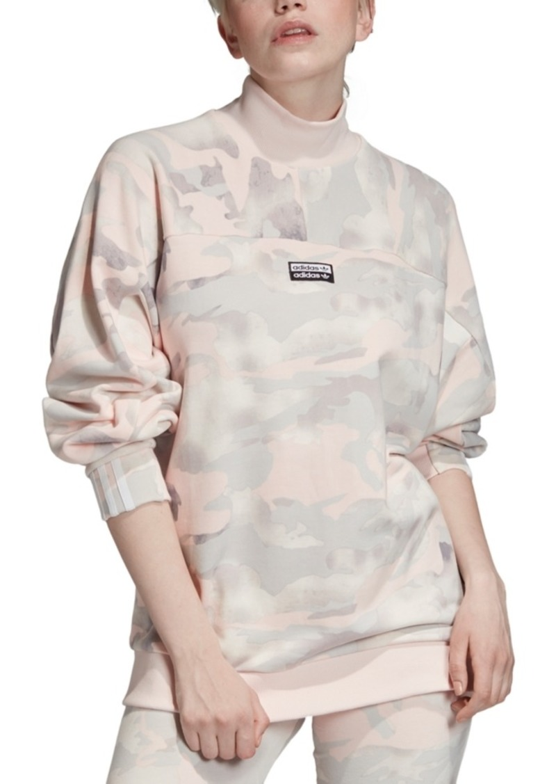 adidas Originals Cotton Camo Sweatshirt
