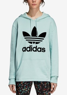 adidas Originals Cotton Relaxed Logo Hoodie