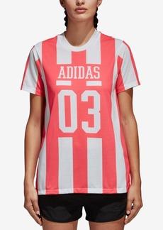 adidas Originals Cotton Striped T-Shirt