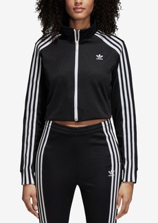 adidas Originals Cropped Track Jacket