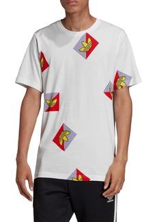 adidas Originals Diagonal Logo Graphic T-Shirt