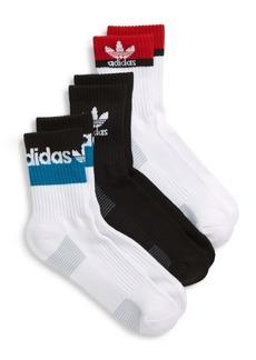 adidas Originals Double Blocked 3-Pack Crew Socks