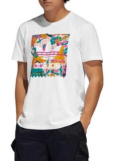 adidas Originals Edgewood Logo Graphic Tee