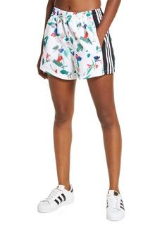 adidas Originals Floral Print Shorts