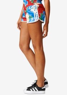 adidas Originals Floral-Print Shorts