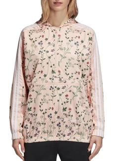 adidas Originals Floral Print Windbreaker Jacket