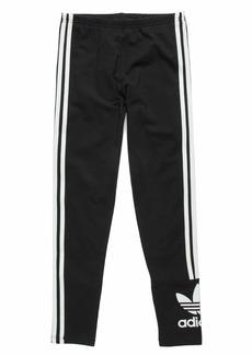 adidas Originals Girls Lock Up Tights Black/White M