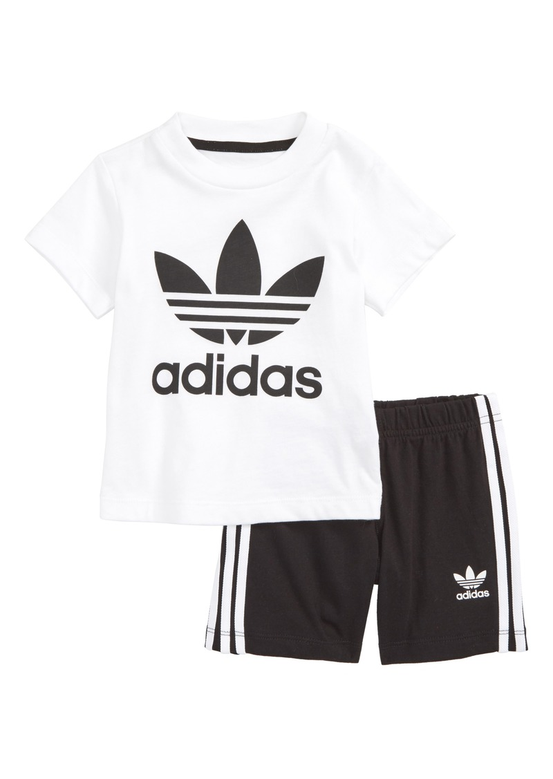 Adidas adidas Originals Graphic T-Shirt   Shorts Set (Baby Boys ... 72ae57c41f38