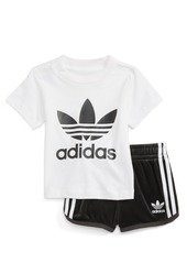 adidas Originals Graphic Tee & Shorts Set (Baby Girls)