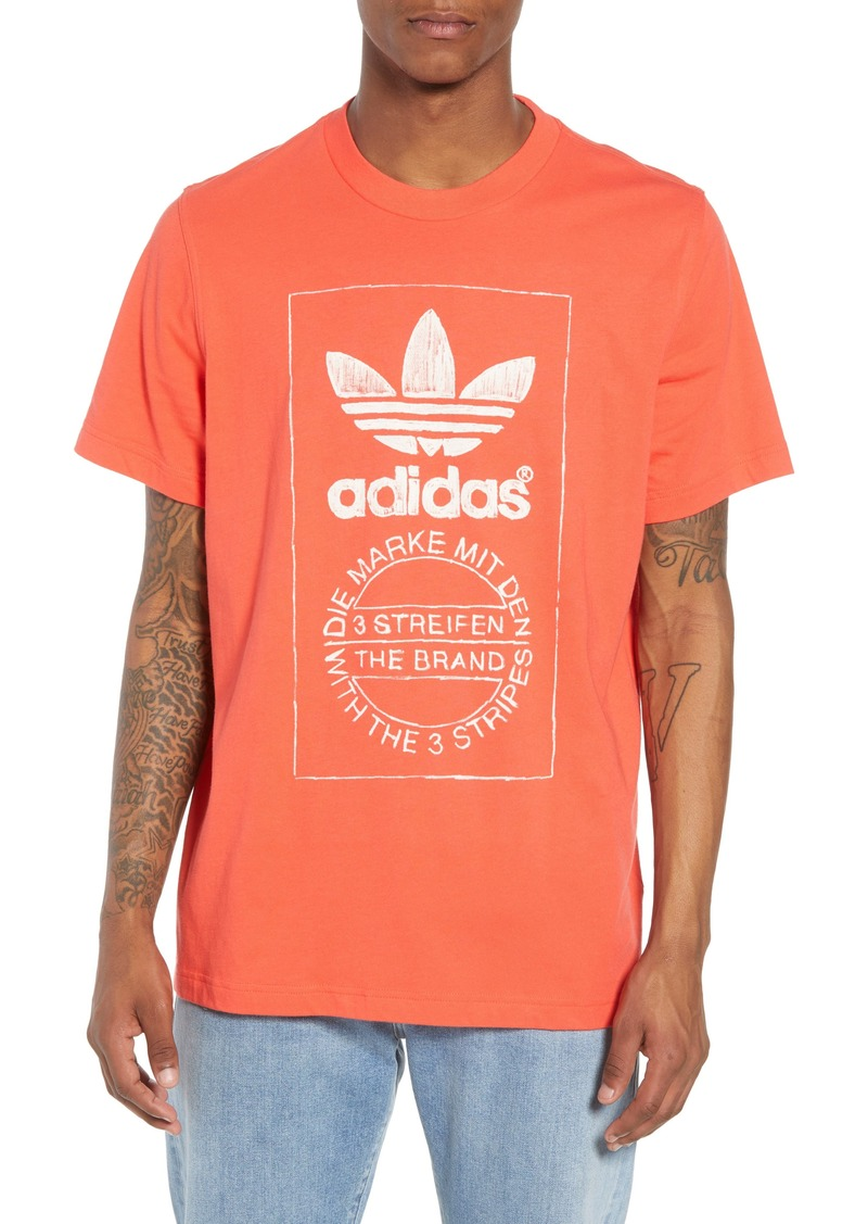adidas Originals Hand Drawn Logo T-Shirt