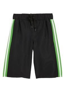 adidas Originals Iconic 3.0 Volley Swim Trunks (Big Boys)