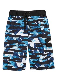 adidas Originals Kamo Fusion Volley Swim Trunks (Big Boys)