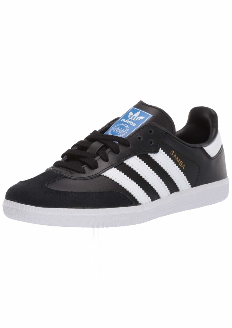 adidas Originals Kids Unisex's Samba OG Sneaker core Black/FTWR White/FTWR White 2.5 M US Big Kid