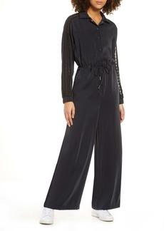 adidas Originals Lace Trim Jumpsuit
