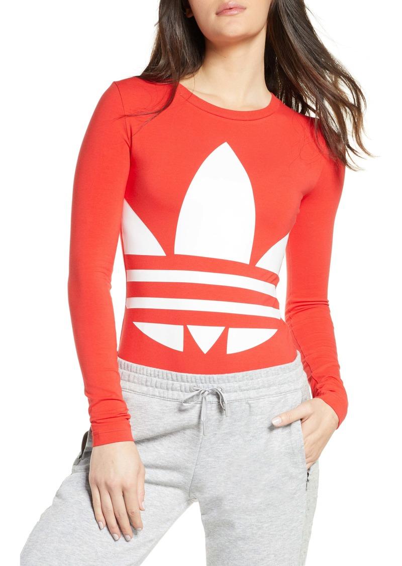 adidas Originals Large Logo Long Sleeve Bodysuit