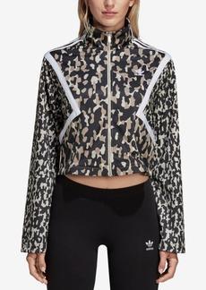 adidas Originals Leoflage Printed Cropped Track Jacket