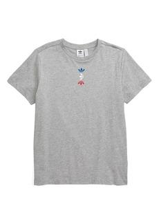 adidas Originals Linear Logo T-Shirt (Big Boys)