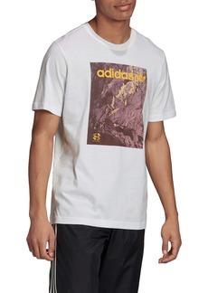 adidas Originals Logo Cotton Graphic Tee