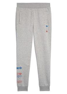 adidas Originals Logo Fleece Jogger Pants (Big Boys)