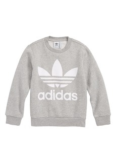adidas Originals Logo Fleece Sweatshirt (Little Boys & Big Boys)