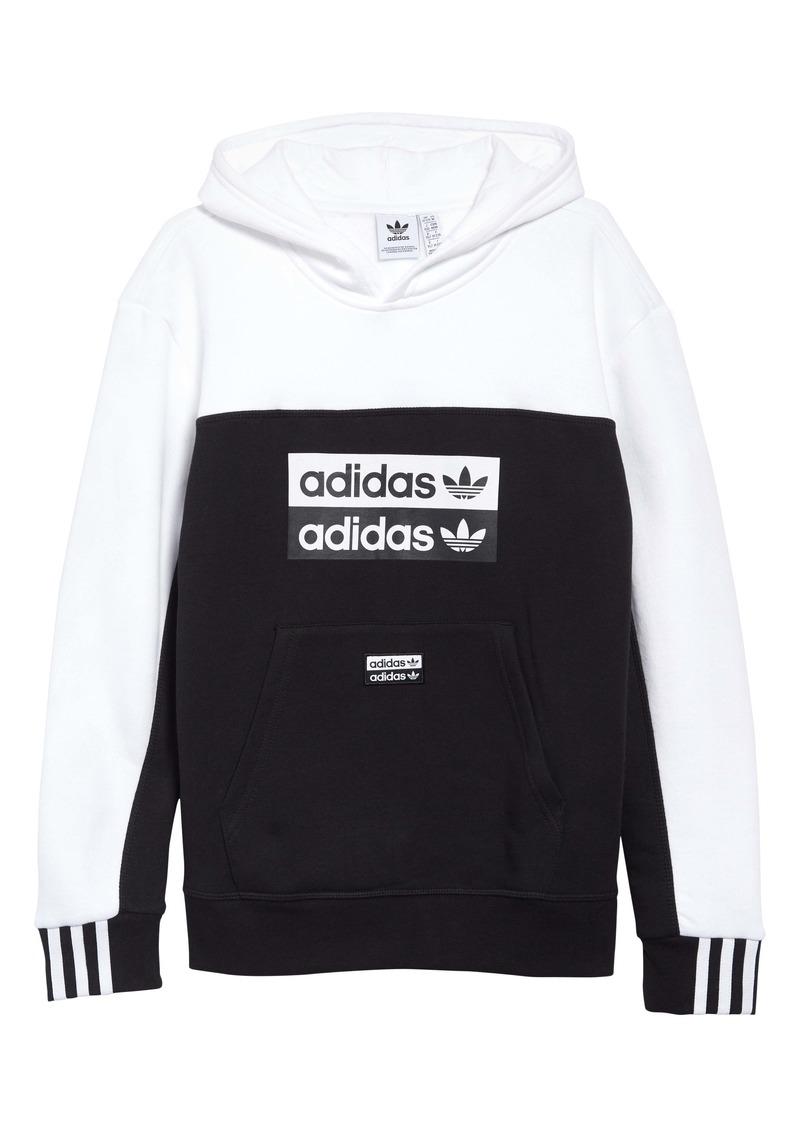 adidas Originals Logo Hoodie (Big Boys)