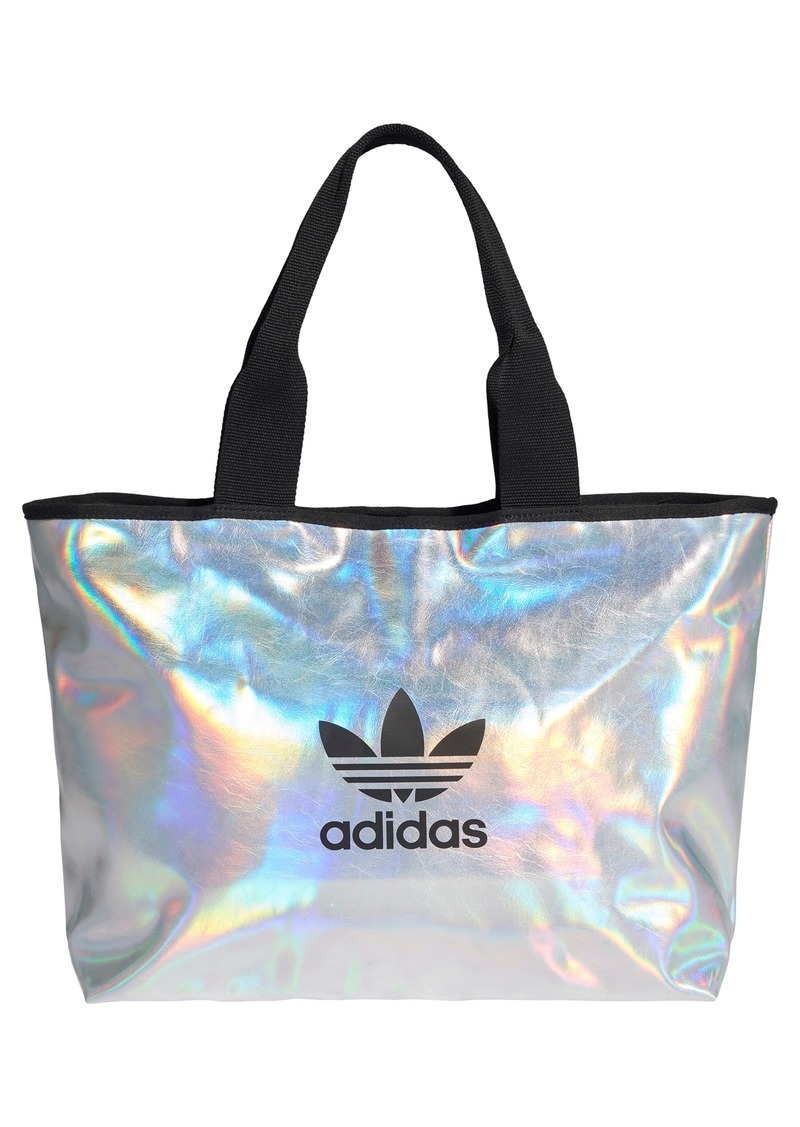 adidas Originals Logo Metallic Shopper