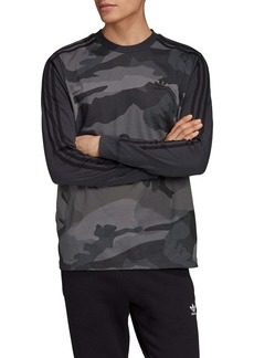 adidas Originals Long Sleeve Camo T-Shirt (Regular Retail Price: $45)