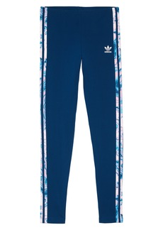 adidas Originals Marble 3-Stripe Leggings (Big Girls)