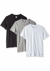 adidas Originals Men's 3 Pack Tees heather/white/black