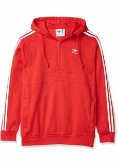 adidas Originals Men's 3-Stripe Full Zip Hoodie Sweatshirt  M