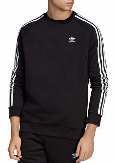 adidas Originals mens 3-Stripes Crewneck Sweatshirt
