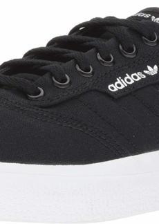 adidas Originals Men's 3MC Regular Fit Lifestyle Skate Inspired Sneakers Shoes black/black/white  M US