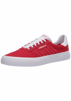adidas Originals Men's 3MC Regular Fit Lifestyle Skate Inspired Sneakers Shoes Scarlet/ftwr White/ftwr White  M US