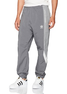 adidas Originals Men's Bottoms Blocked Wind Pants  X-Large