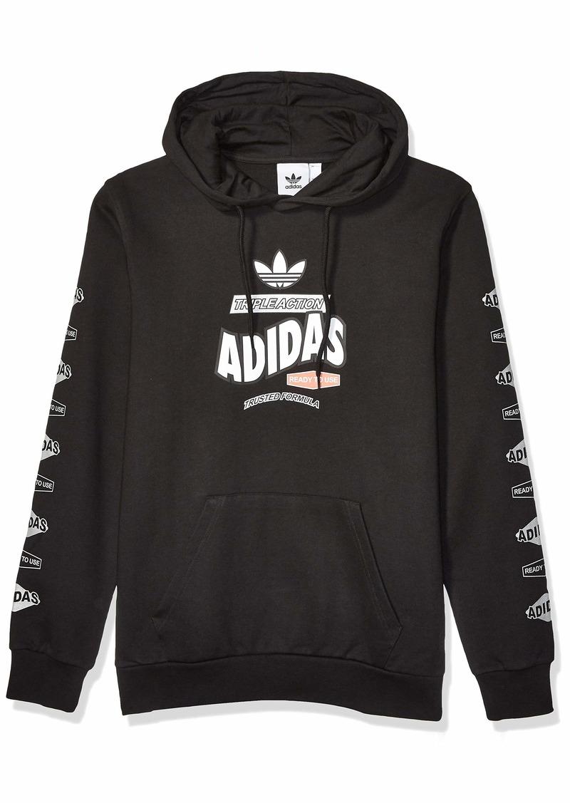 adidas Originals Men's Bodega Hooded Sweatshirt black